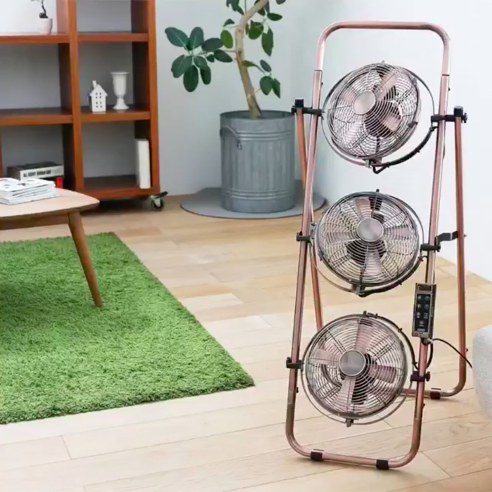 暑い季節こそ、サーキュレーターで室温ムラを解消しよう