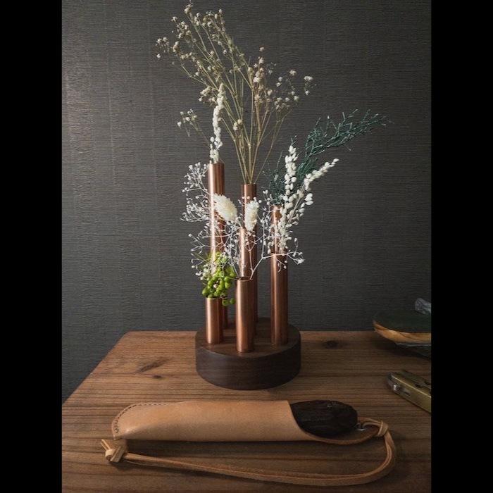 気分によってレイアウト変更できる花器