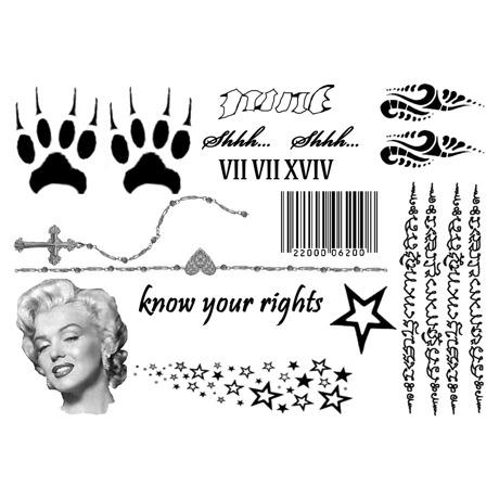 Inkwear Tattoos|Tattoo風シール/セレブセット|