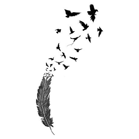 Inkwear Tattoos|Tattoo風シール/羽〜鳥|
