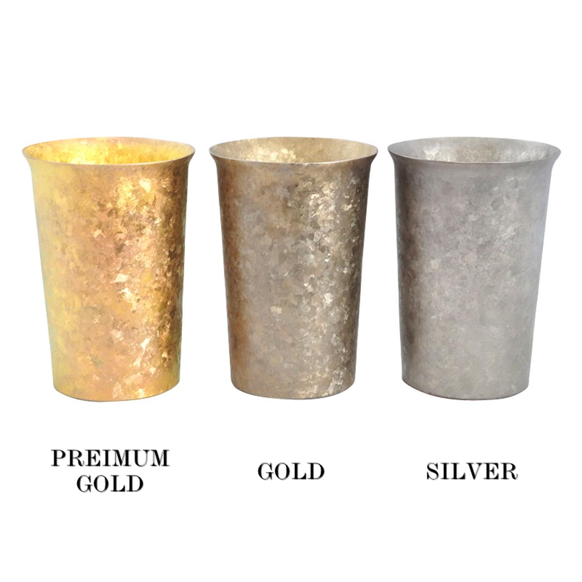 氷が溶けない純チタンタンブラー 保温・保冷力は通常グラスの6倍   燕三条 純チタン製 二重タンブラー 290cc