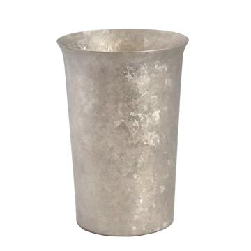 氷が溶けない純チタンタンブラー 保温・保冷力は通常グラスの6倍   燕三条 純チタン製 二重タンブラー 290cc SILVER(在庫限り)
