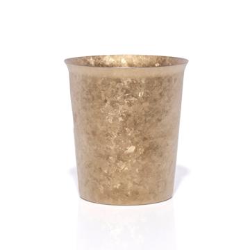 氷が溶けない純チタンタンブラー|保温・保冷力は通常グラスの6倍 | 燕三条 純チタン製 二重タンブラー 250cc|GOLD
