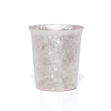 氷が溶けない純チタンタンブラー|保温・保冷力は通常グラスの6倍 | 燕三条 純チタン製 二重タンブラー 250cc|SILVER
