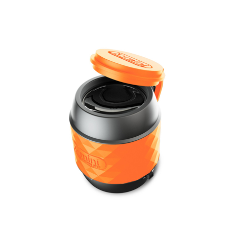 親指サイズの『パワフルスピーカー』|小さくて可愛いのに超実力派 無線スピーカー 待望の最新Bluetooth 対応ウルトラスピーカー X-mini™ WE Gunmetal Black / Bluetooth Ver|ORANGE(在庫限り)