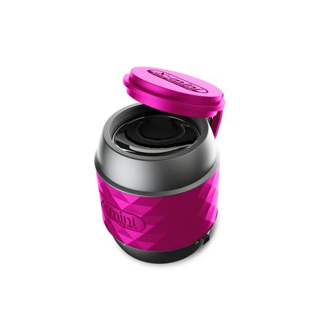 親指サイズの『パワフルスピーカー』|小さくて可愛いのに超実力派 無線スピーカー 待望の最新Bluetooth 対応ウルトラスピーカー X-mini™ WE Gunmetal Black / Bluetooth Ver|PINK(在庫限り)