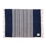 LIMONCHELLO|手織り生地で1枚1枚丁寧に作られたコットン100%のフロアマット|INDIGO BORDER