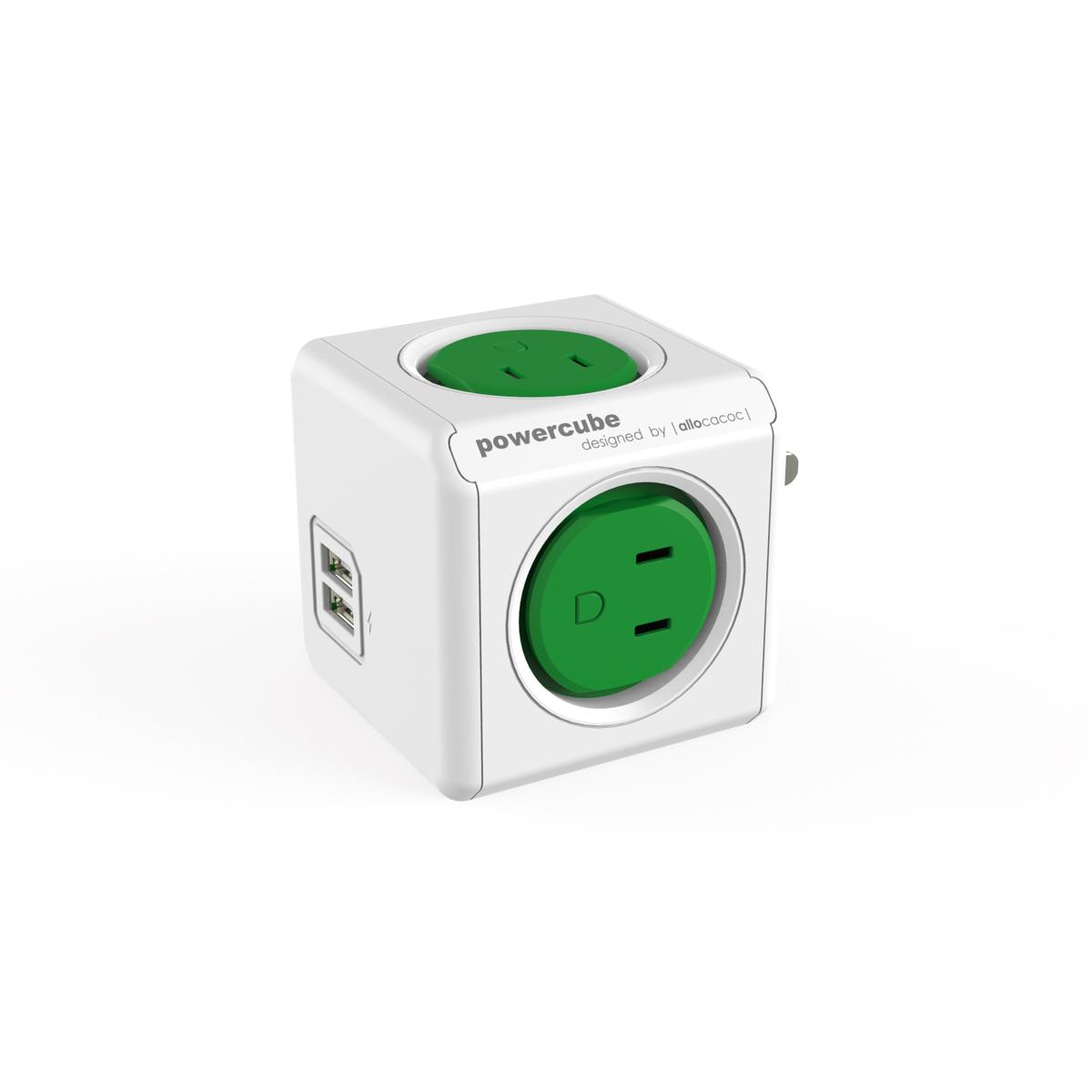 家庭内の電源を「設計」してみる|Original USB(USBポート付 / コードなし)- 必要なコンセント口数を決めることができ省スペース化可能なキューブ型電源タップ