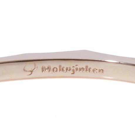 MOKUJINKEN|極限まで磨き込んだ鏡面仕上げにため息すら出る「ロックバングル 18金別注モデル」|S