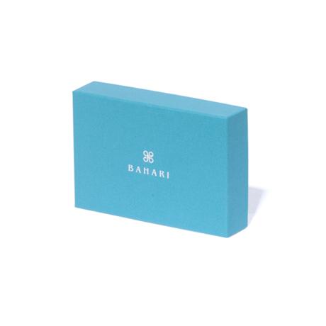 "BAHARI|""海の宝石箱""と呼ばれるほどの耐久性と美しさ | ガルーシャ名刺入れ|パールロイヤルブルー"
