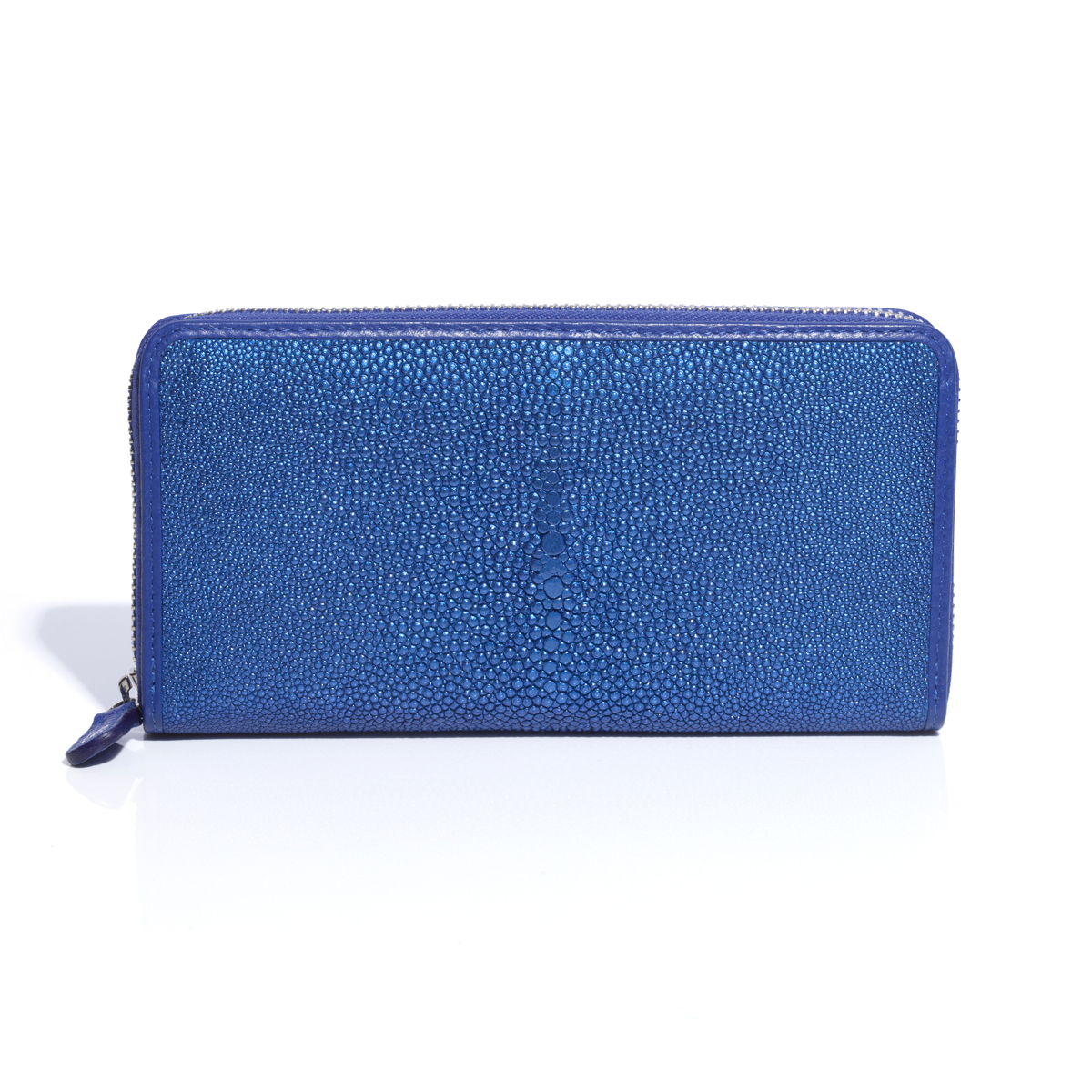 "BAHARI ""海の宝石箱""と呼ばれるほどの耐久性と美しさ   ガルーシャ(エイ革)長財布"