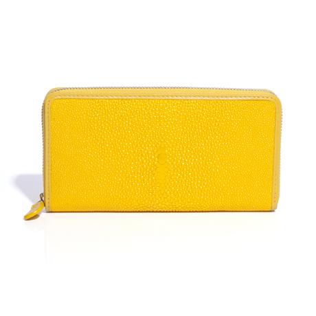 "BAHARI|""海の宝石箱""と呼ばれるほどの耐久性と美しさ | ガルーシャ(エイ革)長財布"