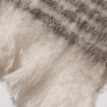 LIMONCHELLO|軽くて柔らかくモヘアのような肌触りが心地よいスローケット/ L(ブランケットサイズ)