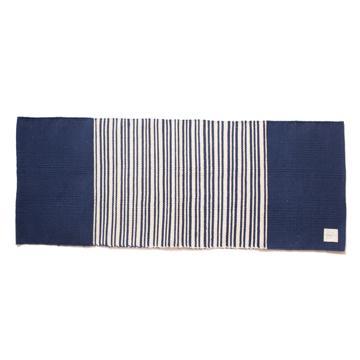 LIMONCHELLO|すべて手織り生地で1枚1枚丁寧に作られたコットン100%のキッチンマット|INDIGO BORDER
