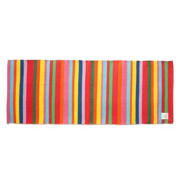 LIMONCHELLO|すべて手織り生地で1枚1枚丁寧に作られたコットン100%のキッチンマット|MULTI STRIPE