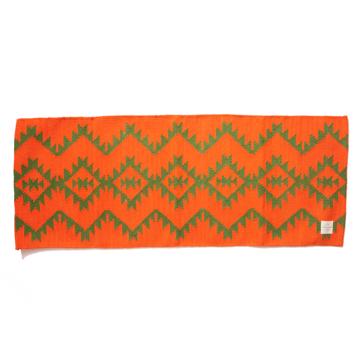 LIMONCHELLO|すべて手織り生地で1枚1枚丁寧に作られたコットン100%のキッチンマット|AZTEC ORNAGE