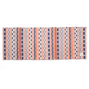 すべて手織り生地で1枚1枚丁寧に作られたコットン100%のキッチンマット