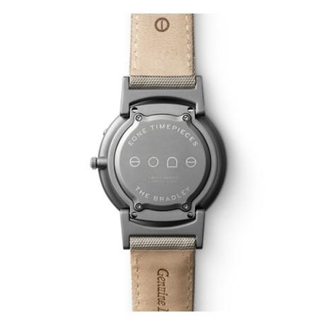 触る時計『EONE』|《CLASSIC CANVAS》汗や水に強いキャンバス素材のバンド、触って時間を知る時計| EONE|GRAY