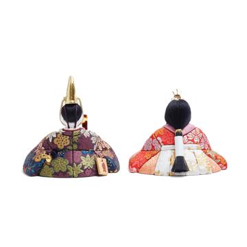 『毎年の幸せ』が御嬢様と家族に訪れる|《四季 親王飾》毎年飾るのが楽しみになる、7つの日本伝統工芸をコンパクトにした、木目込みプレミアム雛人形 | 四季 親王飾|