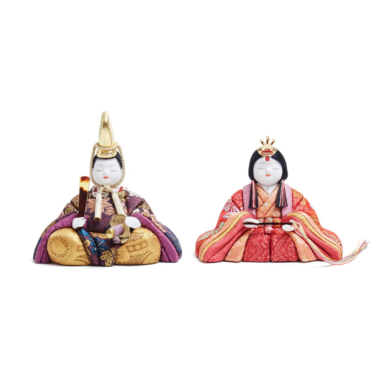 『毎年の幸せ』が御嬢様と家族に訪れる|《四季 親王飾》毎年飾るのが楽しみになる、7つの日本伝統工芸をコンパクトにした、木目込みプレミアム雛人形 | 四季 親王飾