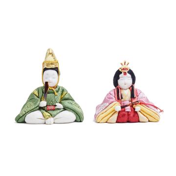 『毎年の幸せ』が御嬢様と家族に訪れる|*今期完売*《凛 親王飾》毎年飾るのが楽しみになる、5つの日本伝統工芸をコンパクトにした、木目込みプレミアム雛人形 | 凛 親王飾|