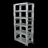 THE TASTEMAKERS & CO.|幅98.0 × 高さ184.0cm(シェルフ6段)世界のメゾンブランドのバックヤードでも愛用される、組み立て簡単、軽量スチールラック | 6 TIER STEEL SHELF (W900シリーズ)|