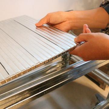 THE TASTEMAKERS & CO.|幅98.0 × 高さ184.0cm(シェルフ6段)世界のメゾンブランドのバックヤードでも愛用される、組み立て簡単、軽量スチールラック | 6 TIER STEEL SHELF (W900シリーズ)