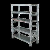 THE TASTEMAKERS & CO.|幅128.0 × 高さ158.5cm(シェルフ5段)世界のメゾンブランドのバックヤードでも愛用される、組み立て簡単、軽量スチールラック | 5 TIER STEEL SHELF (W1200シリーズ)|