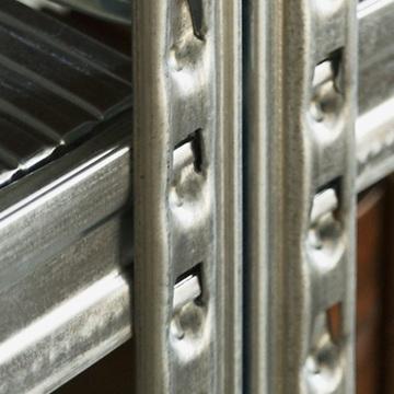 THE TASTEMAKERS & CO.|幅128.0 × 高さ184.0cm(シェルフ6段)世界のメゾンブランドのバックヤードでも愛用される、組み立て簡単、軽量スチールラック | 6 TIER STEEL SHELF (W1200シリーズ)