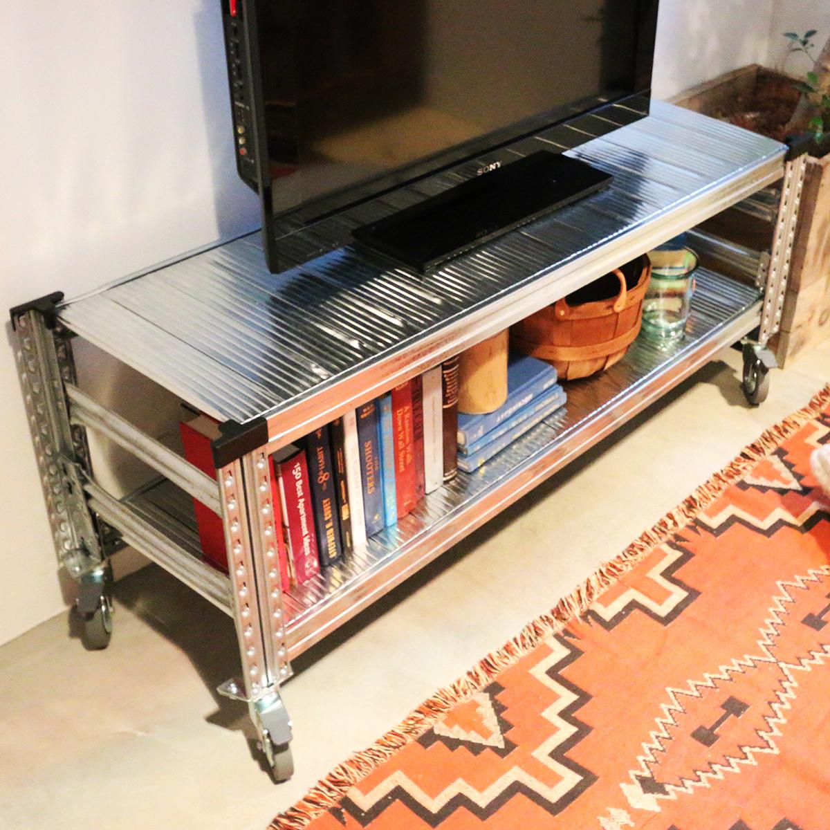 THE TASTEMAKERS & CO.|TVボード | 世界のメゾンブランドのバックヤードでも愛用される、組み立て簡単、軽量スチールTVボード | STEEL TV BOARD