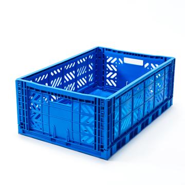 """必要な時だけ使える「折りたたみ式」収納ケース 収納上手は、""""クイック""""に整理整頓 - """"10秒""""で組み立てられる   MALTIWAY BOX / Lサイズ BLUE(完売)"""