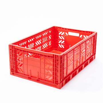 """必要な時だけ使える「折りたたみ式」収納ケース 収納上手は、""""クイック""""に整理整頓 - """"10秒""""で組み立てられる   MALTIWAY BOX / Lサイズ RED(在庫限り)"""