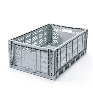 """必要な時だけ使える「折りたたみ式」収納ケース 収納上手は、""""クイック""""に整理整頓 - """"10秒""""で組み立てられる   MALTIWAY BOX / Lサイズ GRAY(完売)"""
