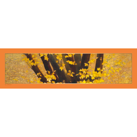 美しい日本の四季をまとう|自然が持つ「生」のエネルギーを、首元にまとう|ストール・東山魁夷コレクション|行く秋