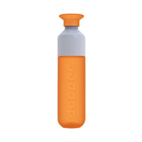 毎日持ち歩きたい「ウォーターボトル」|毎日の水分補給をサポートする「水」専用ボトル|Dopper Original|ROYAL ORANGE(在庫限り)