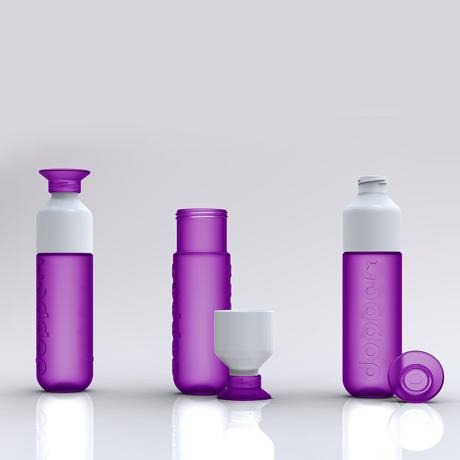 毎日持ち歩きたい「ウォーターボトル」|毎日の水分補給をサポートする「水」専用ボトル|Dopper Original|DEEP PURPLE