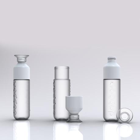 毎日持ち歩きたい「ウォーターボトル」|毎日の水分補給をサポートする「水」専用ボトル|Dopper Original|PURE WHITE(完売)