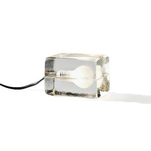 【在庫限り】「光」を味方につけて、家を至福のリラックス空間に - ニューヨーク近代美術館に永久展示されている美しいガラスの間接照明 | BLOCK LAMP mini(ブロックランプ・ミニ)