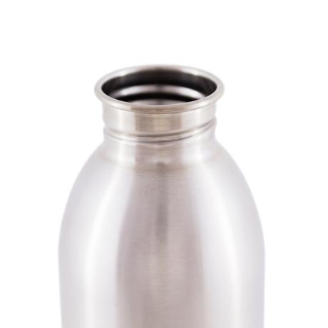 いつでも持ち歩きたくなる「マイボトル」|これ1本で、年間3,000本のペットボトルに相当 - 環境にも優しい、スタイリッシュなイタリアデザイン・ステンレスボトル | URBAN BOTTLE 500ml|STEEL