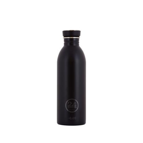 いつでも持ち歩きたくなる「マイボトル」|これ1本で、年間3,000本のペットボトルに相当 - 環境にも優しい、スタイリッシュなイタリアデザイン・ステンレスボトル | URBAN BOTTLE 500ml|BLACK
