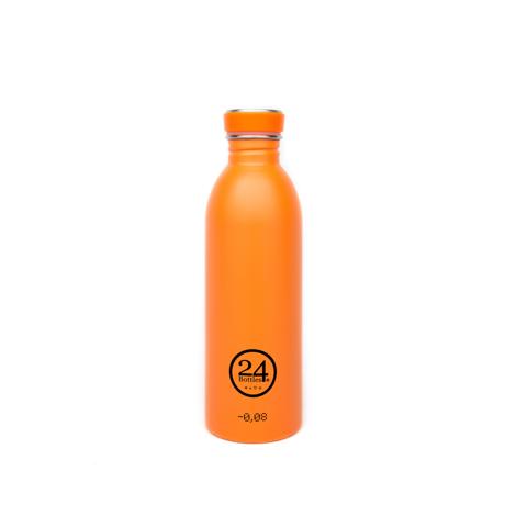 いつでも持ち歩きたくなる「マイボトル」|これ1本で、年間3,000本のペットボトルに相当 - 環境にも優しい、スタイリッシュなイタリアデザイン・ステンレスボトル | URBAN BOTTLE 500ml|ORANGE
