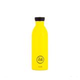 いつでも持ち歩きたくなる「マイボトル」|これ1本で、年間3,000本のペットボトルに相当 - 環境にも優しい、スタイリッシュなイタリアデザイン・ステンレスボトル | URBAN BOTTLE 500ml|YELLOW