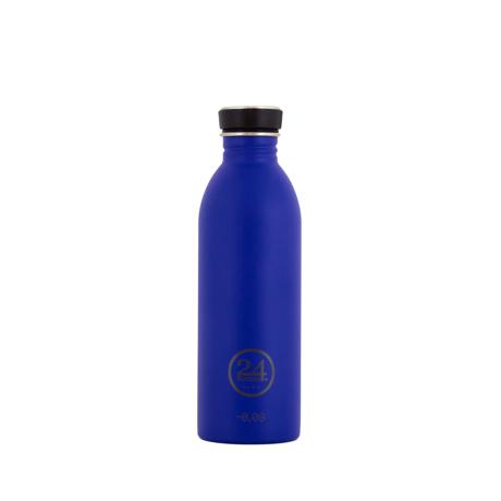 いつでも持ち歩きたくなる「マイボトル」|これ1本で、年間3,000本のペットボトルに相当 - 環境にも優しい、スタイリッシュなイタリアデザイン・ステンレスボトル | URBAN BOTTLE 500ml|BLUE