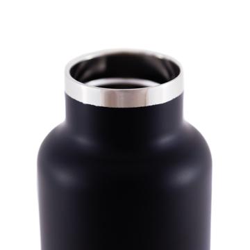 まだ、「ペットボトルの水」 買ってるの?|驚異の保冷24時間、保温12時間 – 環境にも優しい、スタイリッシュなイタリアデザイン・ステンレスボトル | THERMO BOTTLE 500ml|BLACK(在庫限り)