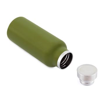 まだ、「ペットボトルの水」 買ってるの?|驚異の保冷24時間、保温12時間 – 環境にも優しい、スタイリッシュなイタリアデザイン・ステンレスボトル | THERMO BOTTLE 500ml|GREEN(完売)