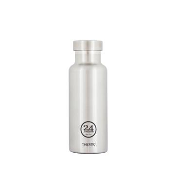 まだ、「ペットボトルの水」 買ってるの?|驚異の保冷24時間、保温12時間 – 環境にも優しい、スタイリッシュなイタリアデザイン・ステンレスボトル | THERMO BOTTLE 500ml|STEEL(完売)