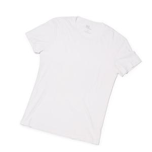 上質なTシャツを買えるようになった大人たちへ – 思わず頬ずりしたくなる肌触りのスーピマコットン・Tシャツ | クルーネックTシャツ / WHITE
