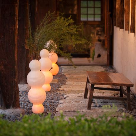 癒しの揺らぐ提灯式ランプ|STANDARD - リラックス空間を作る「提灯式」ランプ| 雲|
