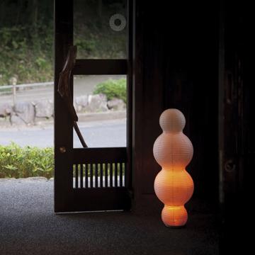 癒しの揺らぐ提灯式ランプ|STANDARD - リラックス空間を作る「提灯式」ランプ| 雲