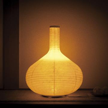 癒しの揺らぐ提灯式ランプ|STANDARD - リラックス空間を作る「提灯式」ランプ| 細口壺